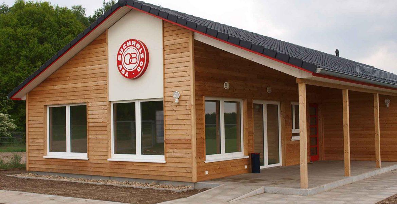 Neubau eines Sportlerheims