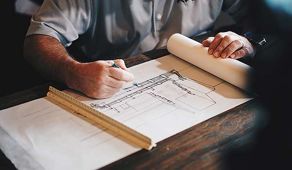 Bauplanung, der rundum Service
