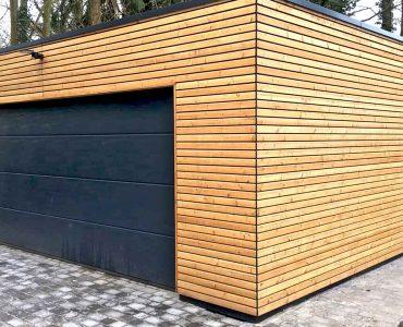 Garage aus Holz