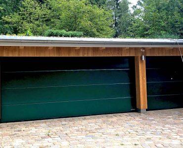 Garage mit Gründach