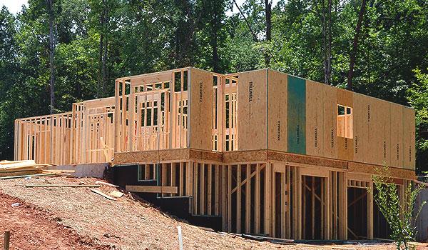 Hausbau, Haus bauen, Holzhausbau, Holzbauweise